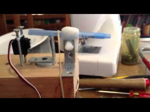 Arduino controlled automatic fish feeder youtube for Automatic betta fish feeder