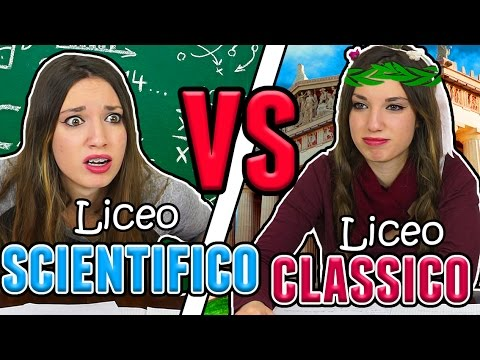 LICEO CLASSICO VS LICEO SCIENTIFICO