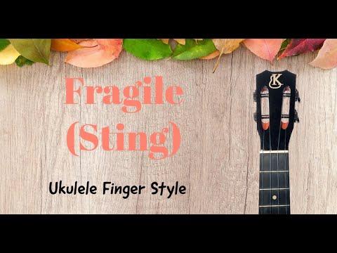 Fragile Cover Sting Ukulele Tenor Youtube