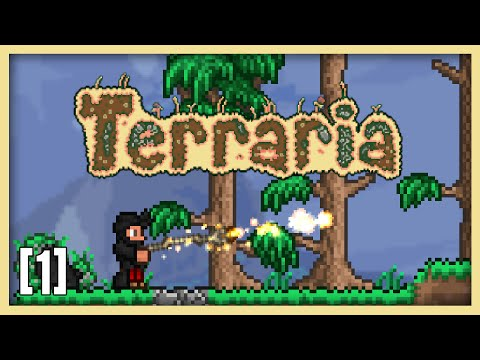 Terraria 1.3 Expert Mage Class Let's Play Part 1 - Topaz Staff | 1.3.2 Mage Playthrough
