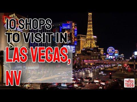 10 Must Visit Shops in Las Vegas, NV