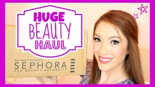 HUGE SEPHORA HAUL ♥ Makeup, Skincare & More! | Blair Fowler Thumbnail