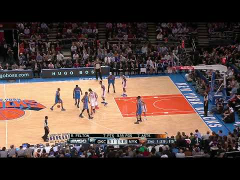 2010-11 NY Knicks Defense + Fast Break