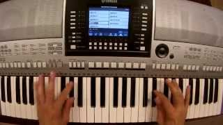 Feder ft Lyse - Goodbye - piano keyboard synth cover by LIVE DJ FLO