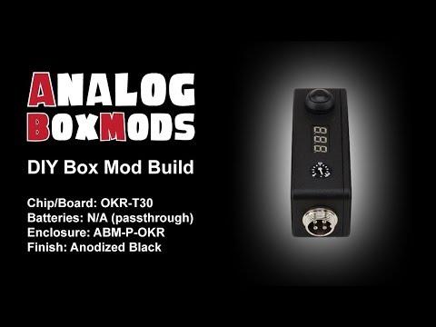 OKR-T30 Passthrough (update) DIY Box Mod Build
