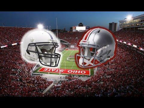2017 Penn State Nittany Lions vs Ohio State Buckeyes Simulation