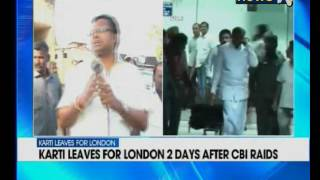 P Chidambaram's son Karti Chidambaram in London; father says 'there is no ban on his travel'