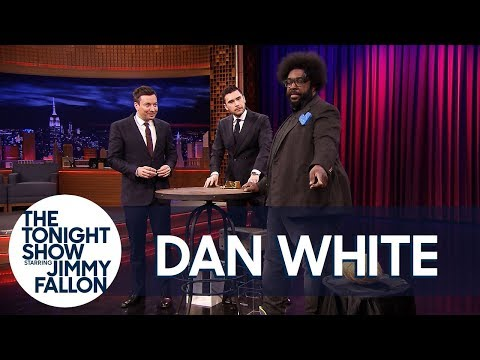 Jimmy and Questlove Lose It Over Dan White's Insane Ball of Yarn Magic Trick