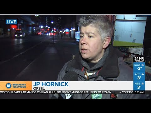 Ontario College Strike - Day 32 - JP Hornick demystifies NDP worker rights protection- November 2017