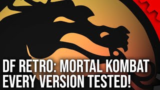 DF Retro: Mortal Kombat - The Legend, The Arcade Tech, The Console Ports - 16 Versions Analysed!