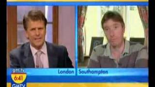 F4J Barrister  Michael Cox vs CSA On GMTV 09.07.07, part 1 of 2.avi
