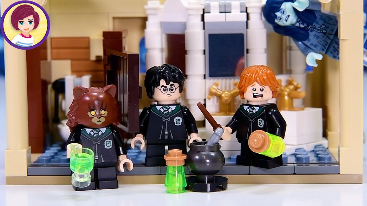 Wanna see Hermione turn into a cat? Me too! Lego Harry Potter Polyjuice Potion Mistake Build