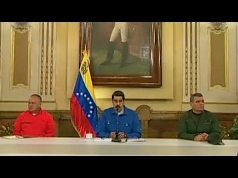 Maduro negó que estuviera por abandonar Venezuela para ir a Cuba