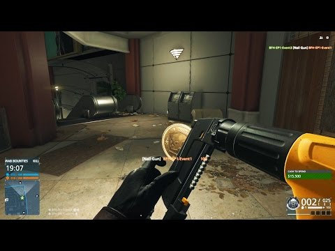 NAIL GUN, GOLD TOMMY GUN + BOUNTY HUNTER! (Battlefield Hardline: Criminal Activity Gameplay)
