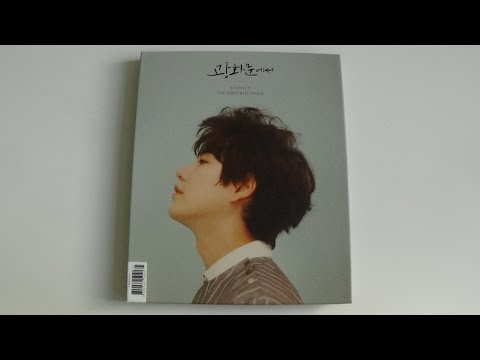Unboxing Kyuhyun 규현 1st Korean Mini Album At Gwanghwamun 광화문에서
