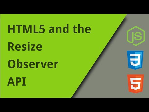 How To Use The Resize Observer API