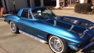 Dean's 1967 corvette convertible