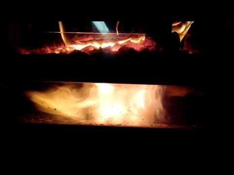 Fireplace downdraft wood gasifier 5 of 8