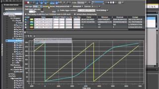 single data trace using sysmac studio