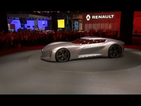 Renault TREZOR - World premiere (REVIEW Channel Auto news) September 29, 2016