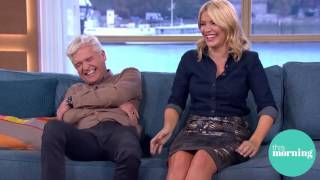 Uncontrollable laughter from Holly and Phil...6th Oct 2016