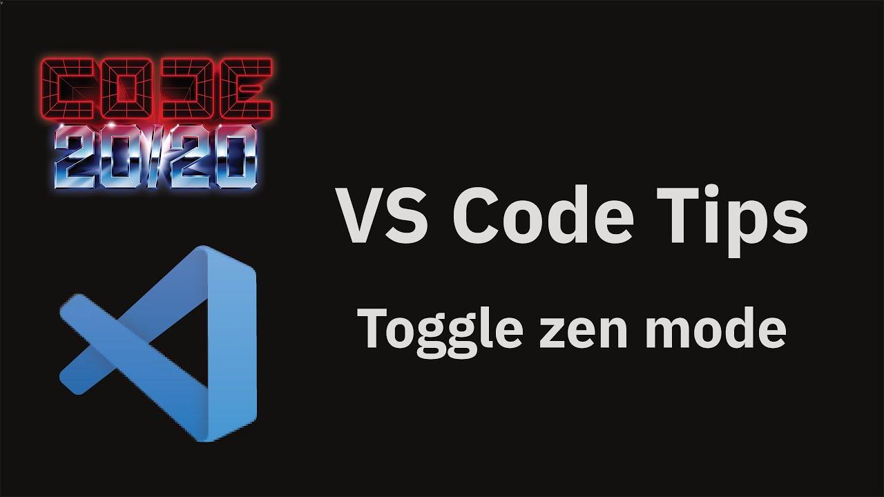 Toggle zen mode