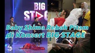 Download lagu Momen Baby Shima Jatuh Pengsan di Konsert BIG STAGE Minggu Ke-2
