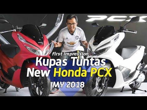 Kupas Tuntas Detail Honda PCX CBS ABS