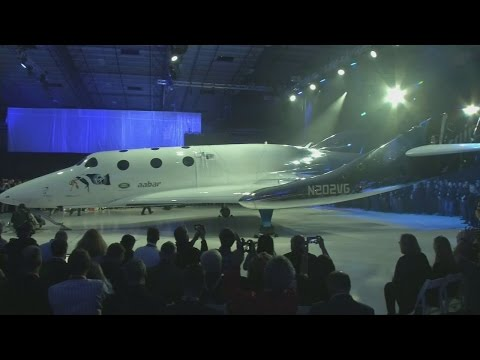 Virgin unveils new passenger space plane