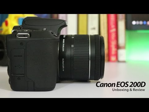 Canon EOS 200D Unboxing and Review // The Best Entry level DSLR for Vloggers
