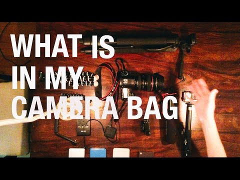 What's In My Camera Bag | The BEST Vlogging Camera.