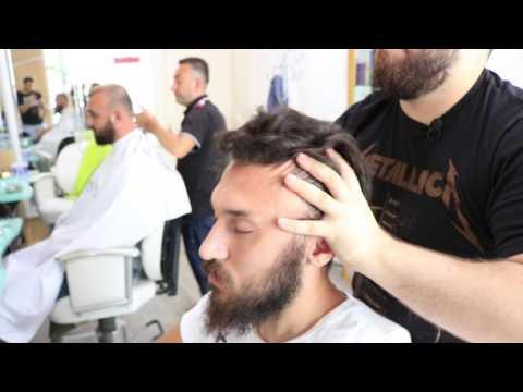 ASMR Turkish Barber Head Neck and Body Massage 41