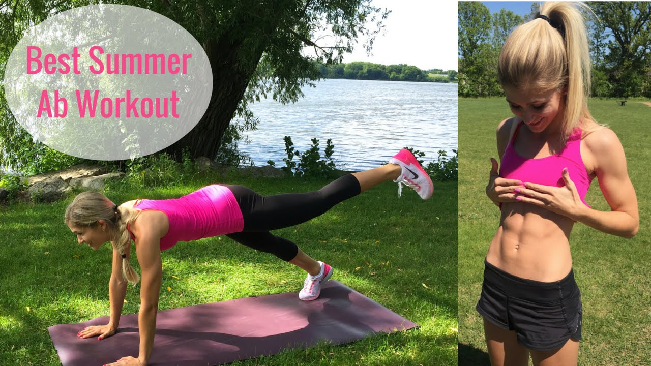 30 Minute Tight Core Summer Workout For Women