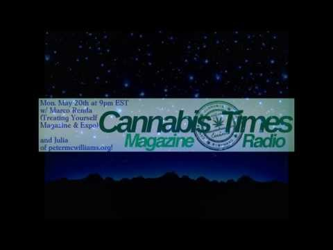 Cannabis Times Radio (edited) Marco of Treating Yourself and julia of petermcwilliams.org