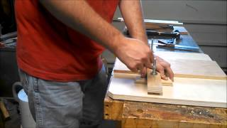 Dovetail Pin Stop Jig For The Router