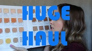 Huge Haul (NYX, Marc Jacobs, Maybelline, Nars, Milani, Anastasia & More) | Heather Pickles