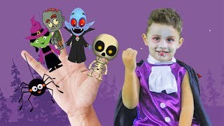 Finger Family Halloween and More Nursery Rhymes Kids Song by LETSGOMARTIN
