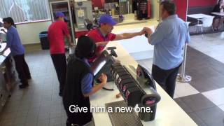The Next Actor - Drew Neemia at KFC | Jono and Ben at Ten