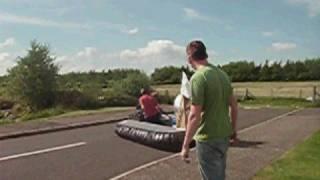 Hovercraft on land test at Heriot Watt University thumbnail