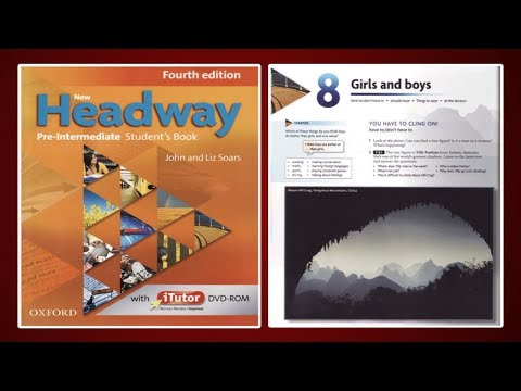 (Update) New Headway Pre-Intermediate Student's Book 4th :Unit.8 -Girls And Boys