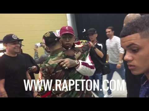 La muestra de respeto entre Daddy Yankee y Ñengo Flow
