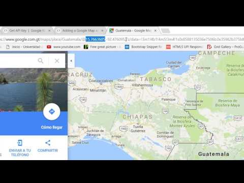 Crear Un Marcador Google Maps