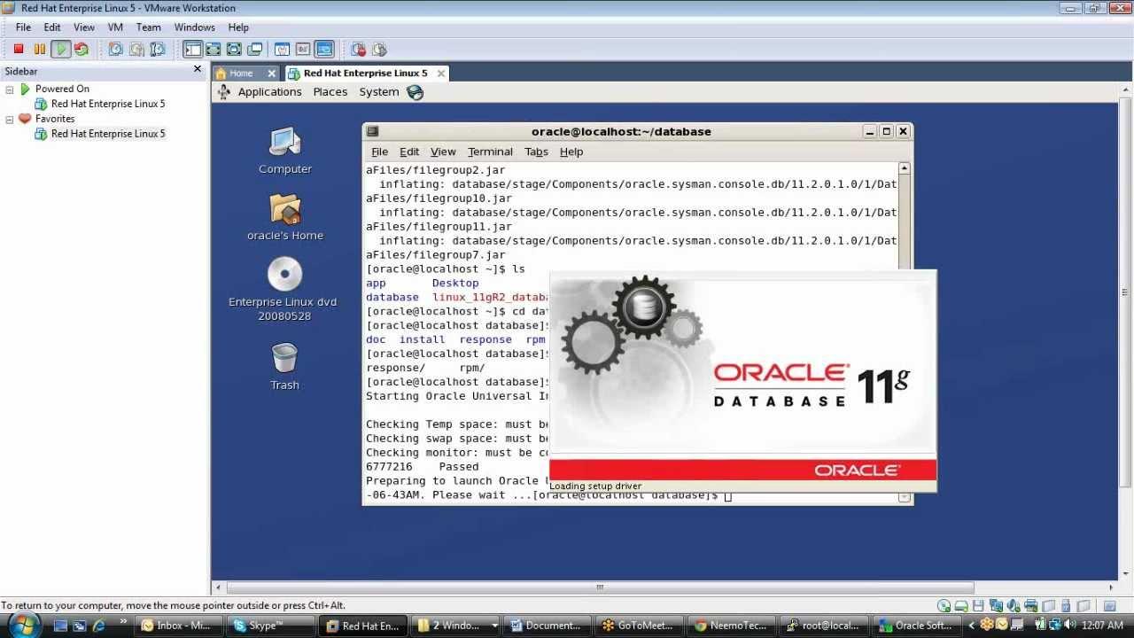 Oracle database 11g installation on oracle linux youtube.