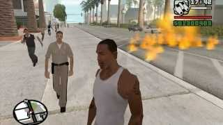 GTA San Andreas - CHEATS! (Parte 1)