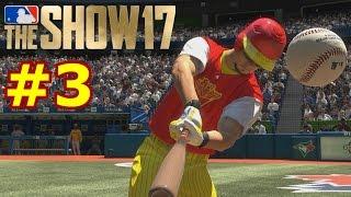 HITTING BACK TO BACK TO BACK HOME RUNS | MLB The Show 17 | Diamond Dynasty PT.3