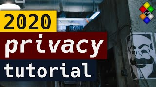How to protect your online privacy in 2020 | Tutorial