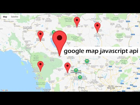 Set Mutli Locations On Map | Using Google Map JavaScript API