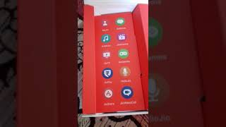 UN BOXING OF THE JIO PHONE