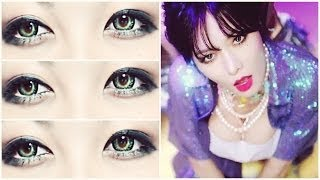 HYUNA '오늘 뭐해 Whatcha Doin' Today (4MINUTE 포미닛) Makeup Inspired