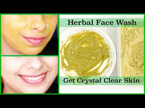 Herbal Face Wash to Get Rid of Acne & Pimples | Crystal Clear, Spotless Skin